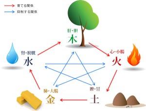 東洋医学のキホン五行学説