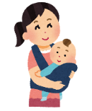産後の骨盤矯正の患者さん。渋谷桜丘南平台鍼灸整体専門のふくもと治療院の産後ケア
