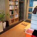 渋谷桜丘南平台にある鍼灸整体ふくもと治療院 院内の風景